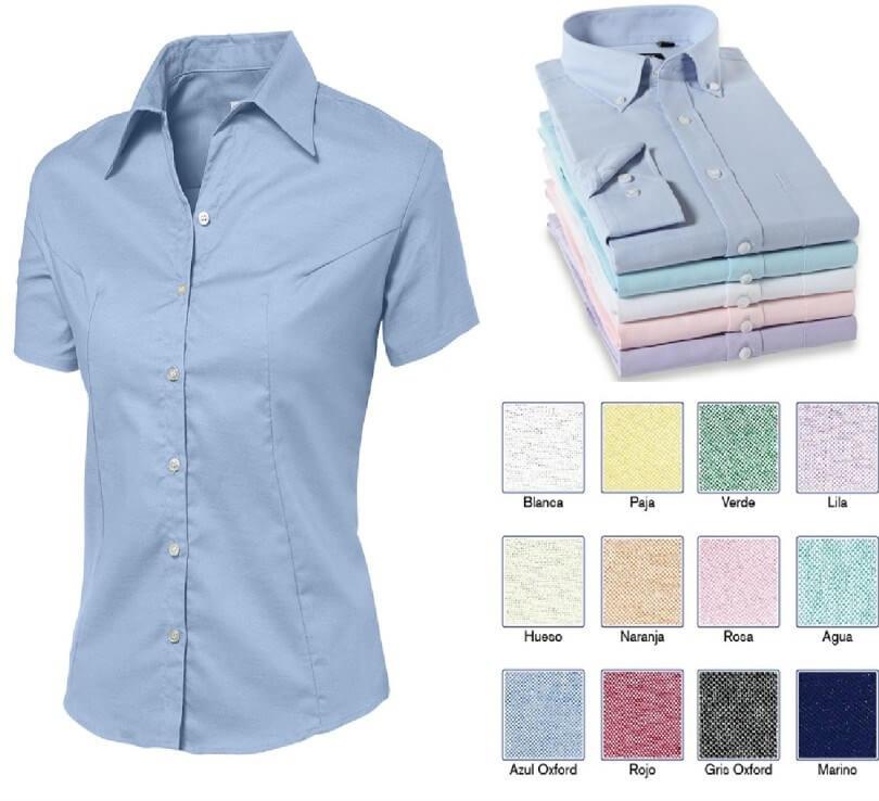 29d1baf02ec6 dotaciones industriales en bogota camisas oxford para uniformes ...